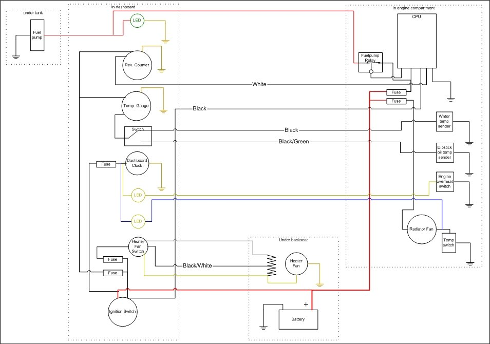 wiring_diagram temperature gauge, rev counter and indicator lights  at gsmx.co